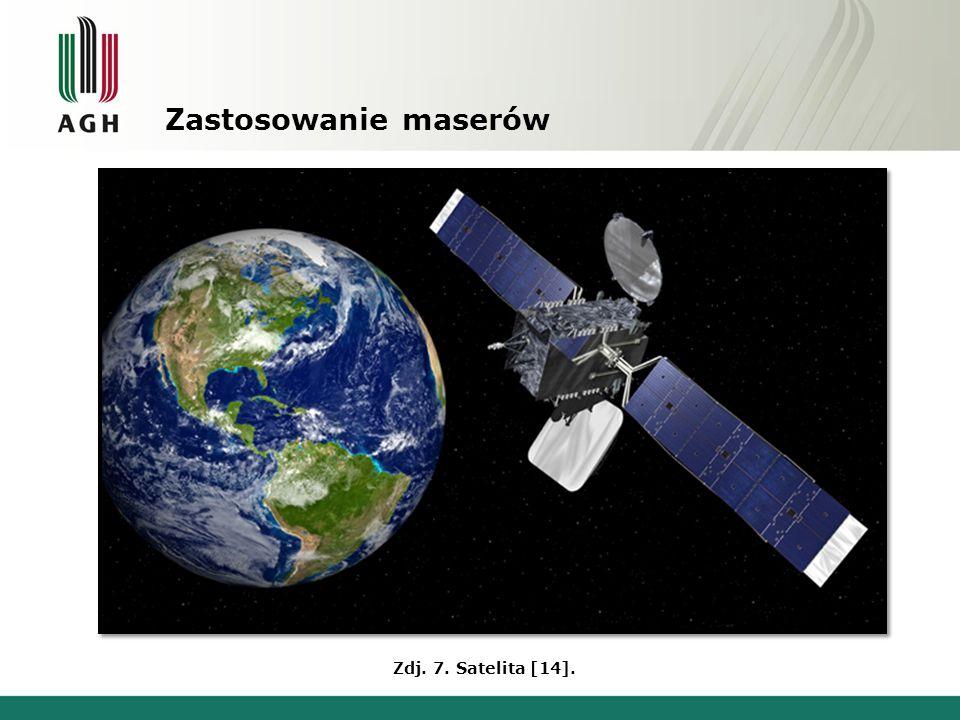 Zastosowanie maserów Zdj. 7. Satelita [14].